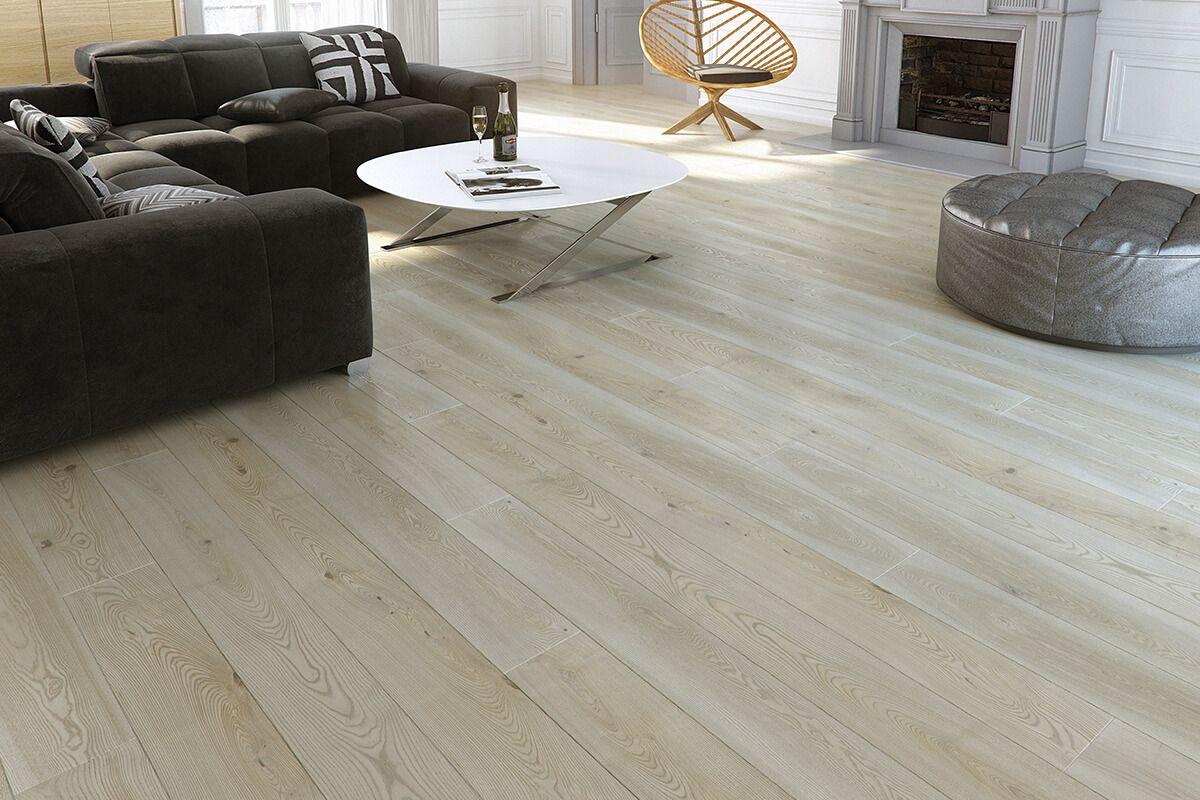 Barlinek Pure Engineered Ash Flooring Platinium Grande