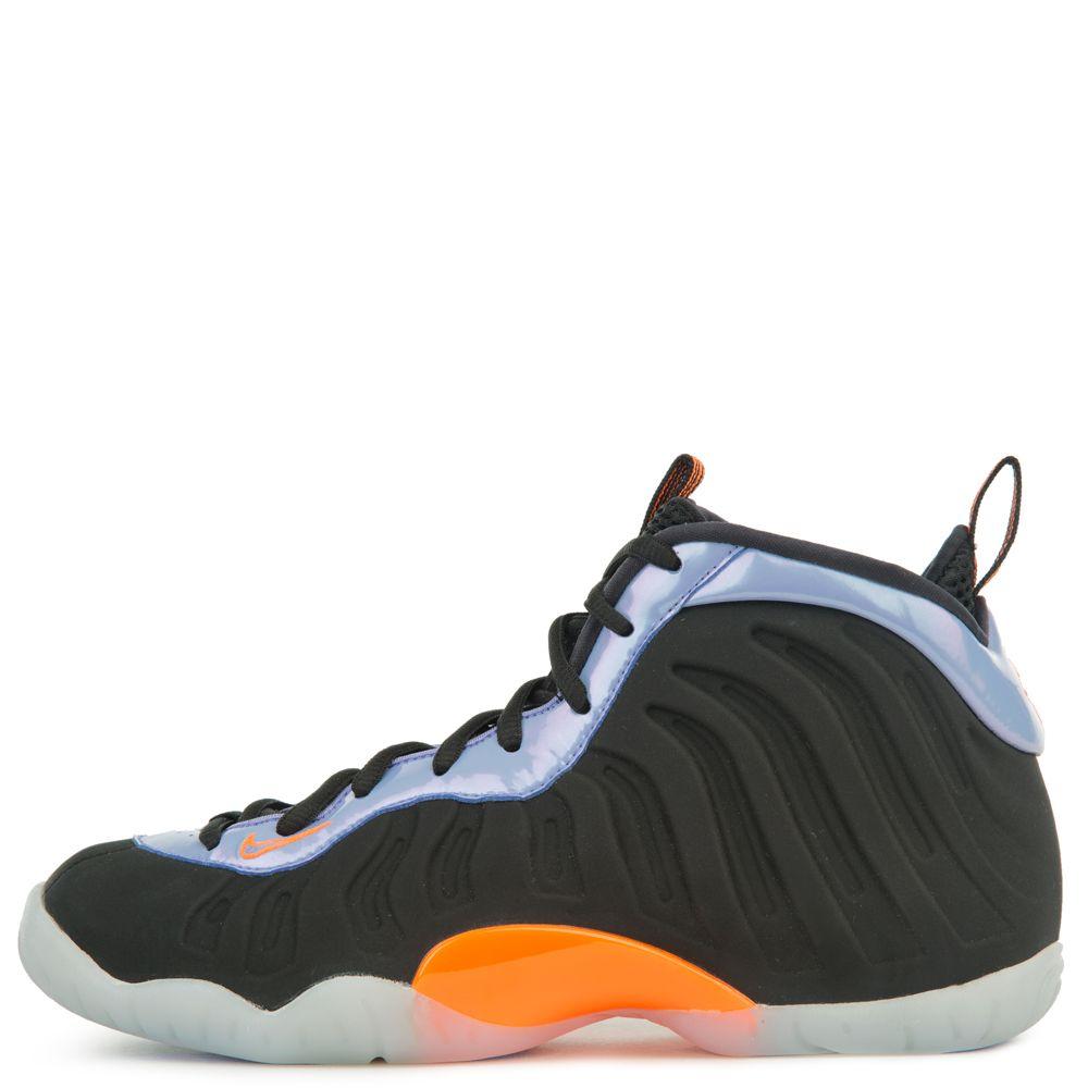 51e78985d90a2 Nike  nike Little Posite One (gs) Black total Orange-twilight Pulse-white