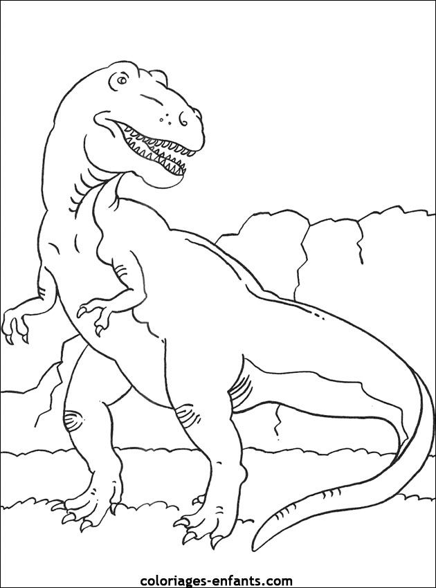 warnio05 dryosaurus kleurplaat