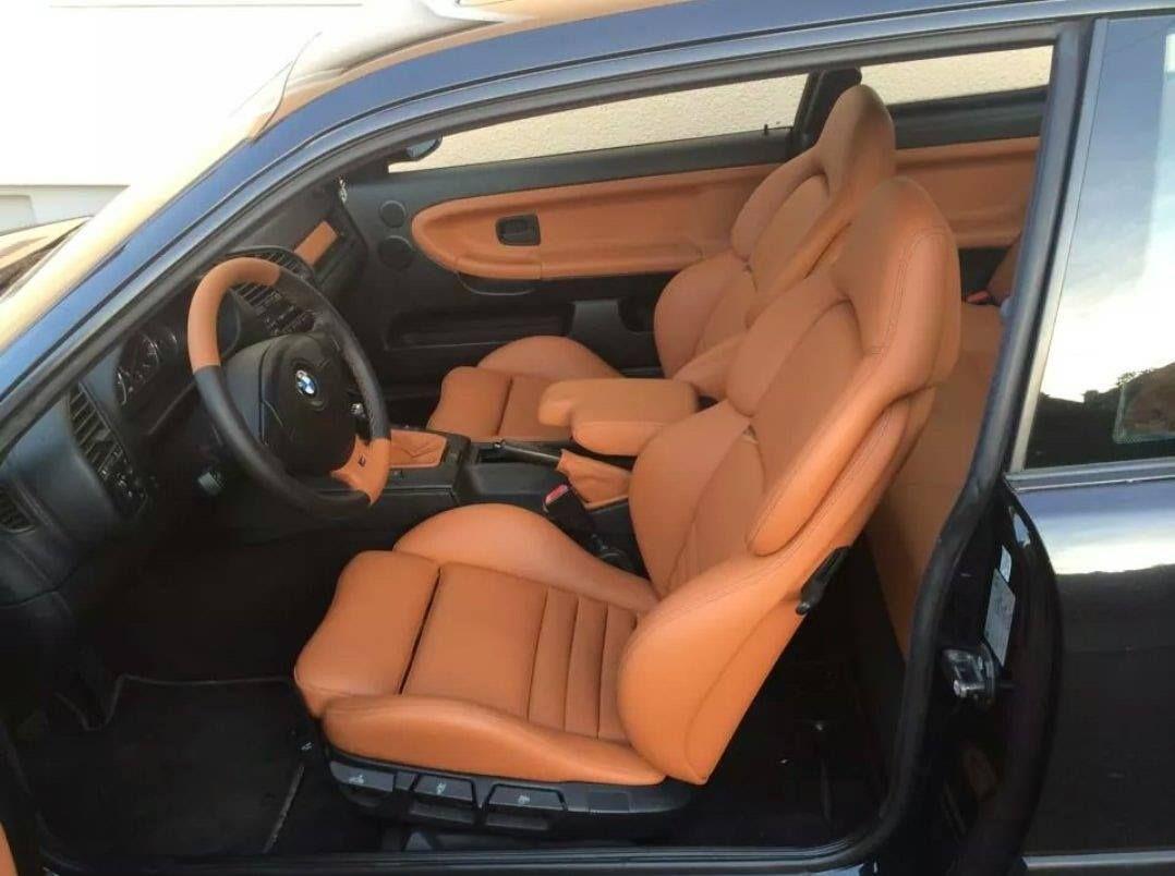 Bmw E36 Coupe Interior Leather Vader Seats Con Imagenes E36