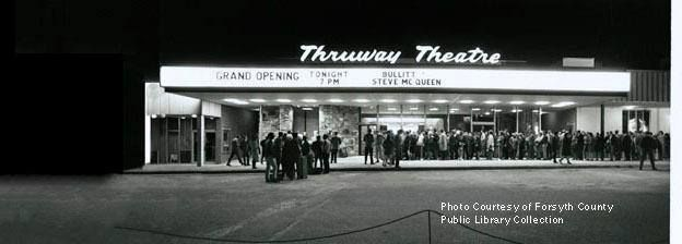 Grand Opening Of Thruway Theater February 16 1969 Winston Salem