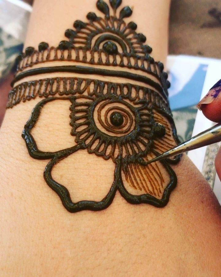 Motif Dasar Untuk Henna Pemula By Gopihenna Lingkaran Spiral Kelopak Bunga Naungan Kelopak Bunga Tag Sahabatmu Yang Mau Henna Tangan Make Up