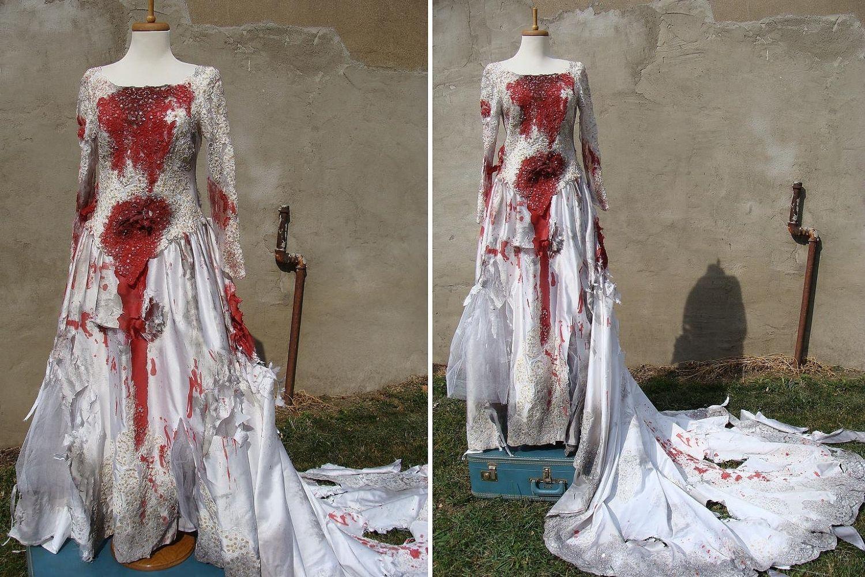 Bloody Wedding Dress Halloween