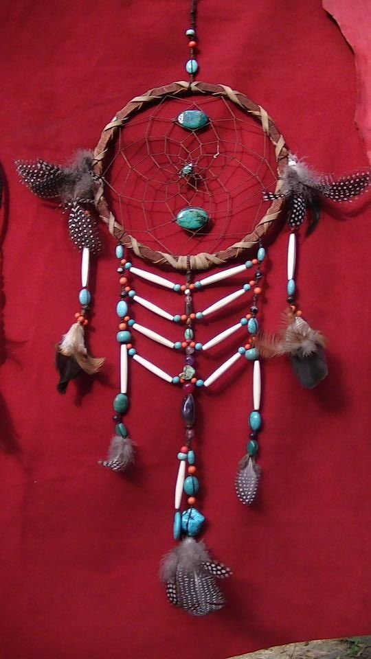 medium dream catcher with bone & bead chest plate -this will definately keep those bad dreams away!  www.beautifullybespoke.com.au