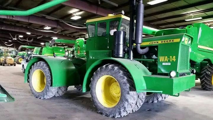 Large 4 Wheel Drive Tractors : John deere wa fwd tractors old pinterest four
