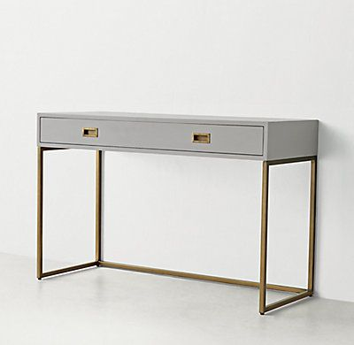 RH TEENs Avalon DeskThe sleek lines of our collection