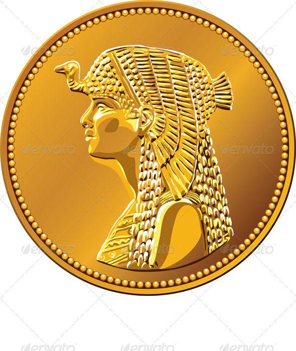 egypt pharaohs coin the Egyptian king mo salah