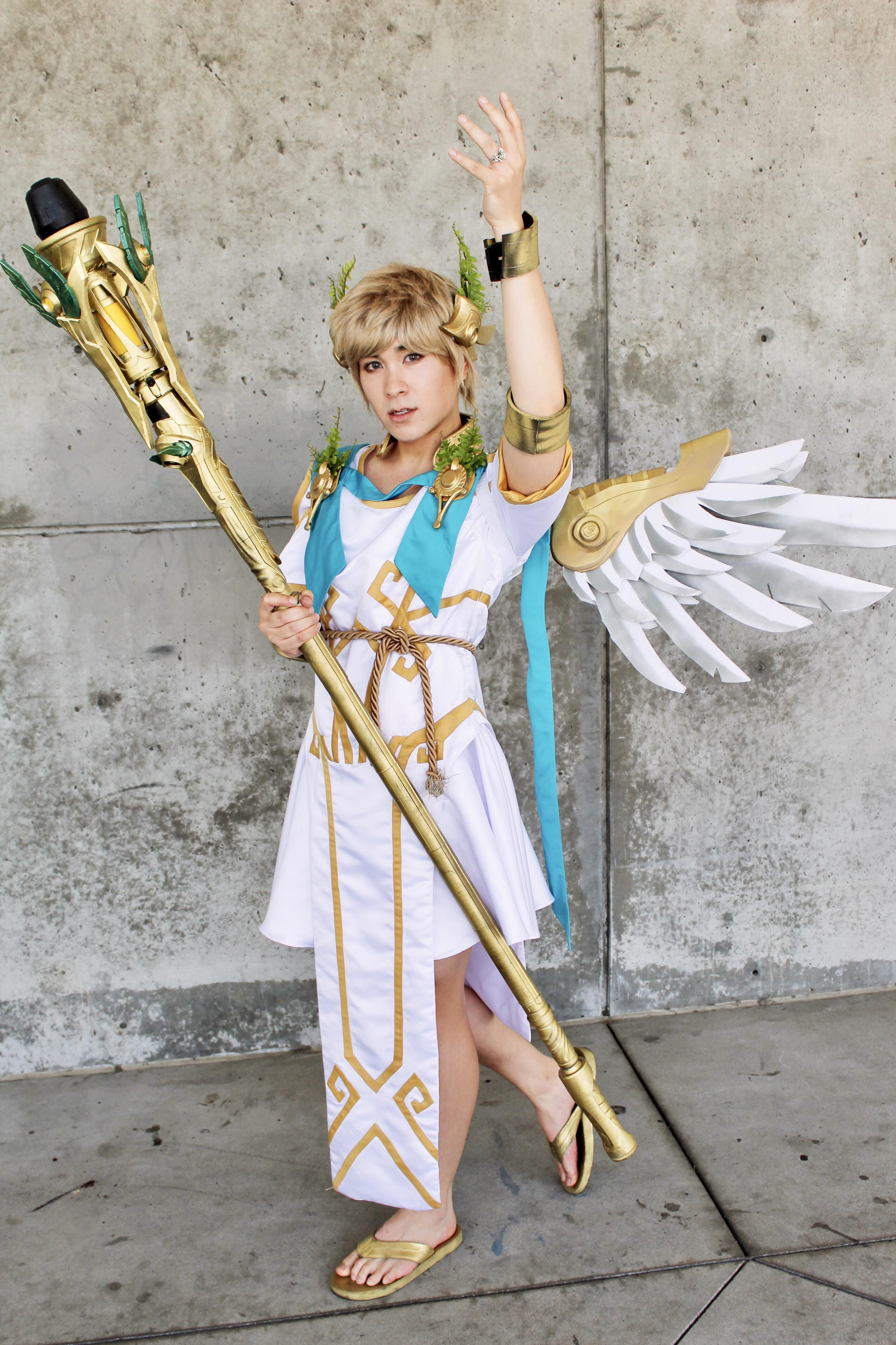 [self] My gender bentish winged victory Mercy Overwatch