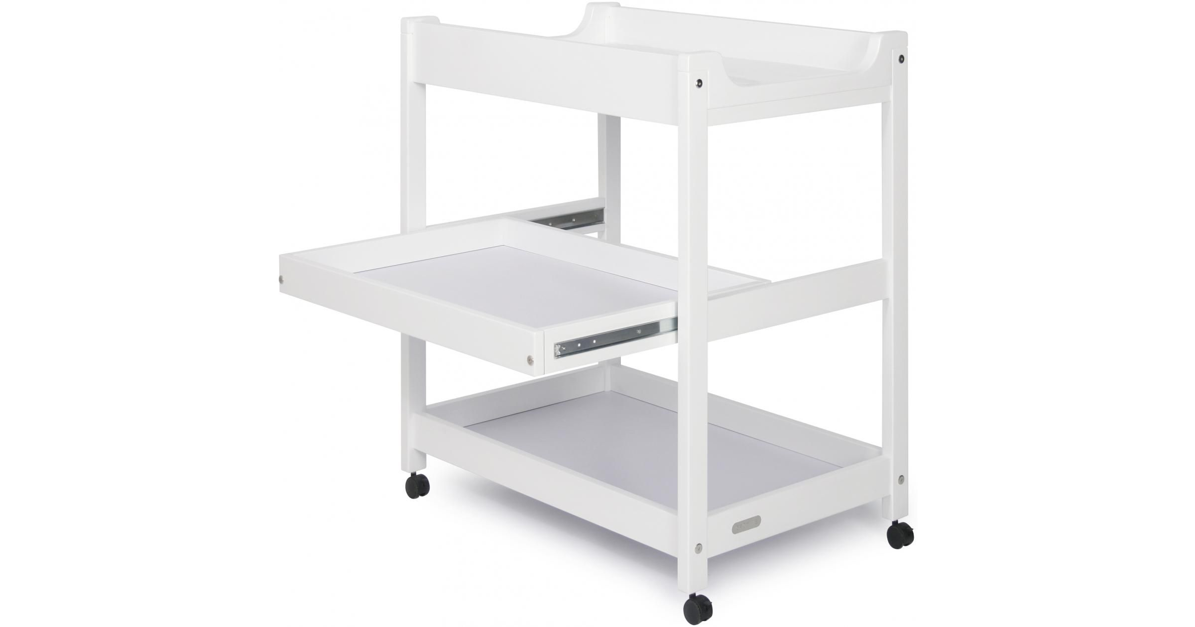 Bella change table with drawer out changing tables nursery