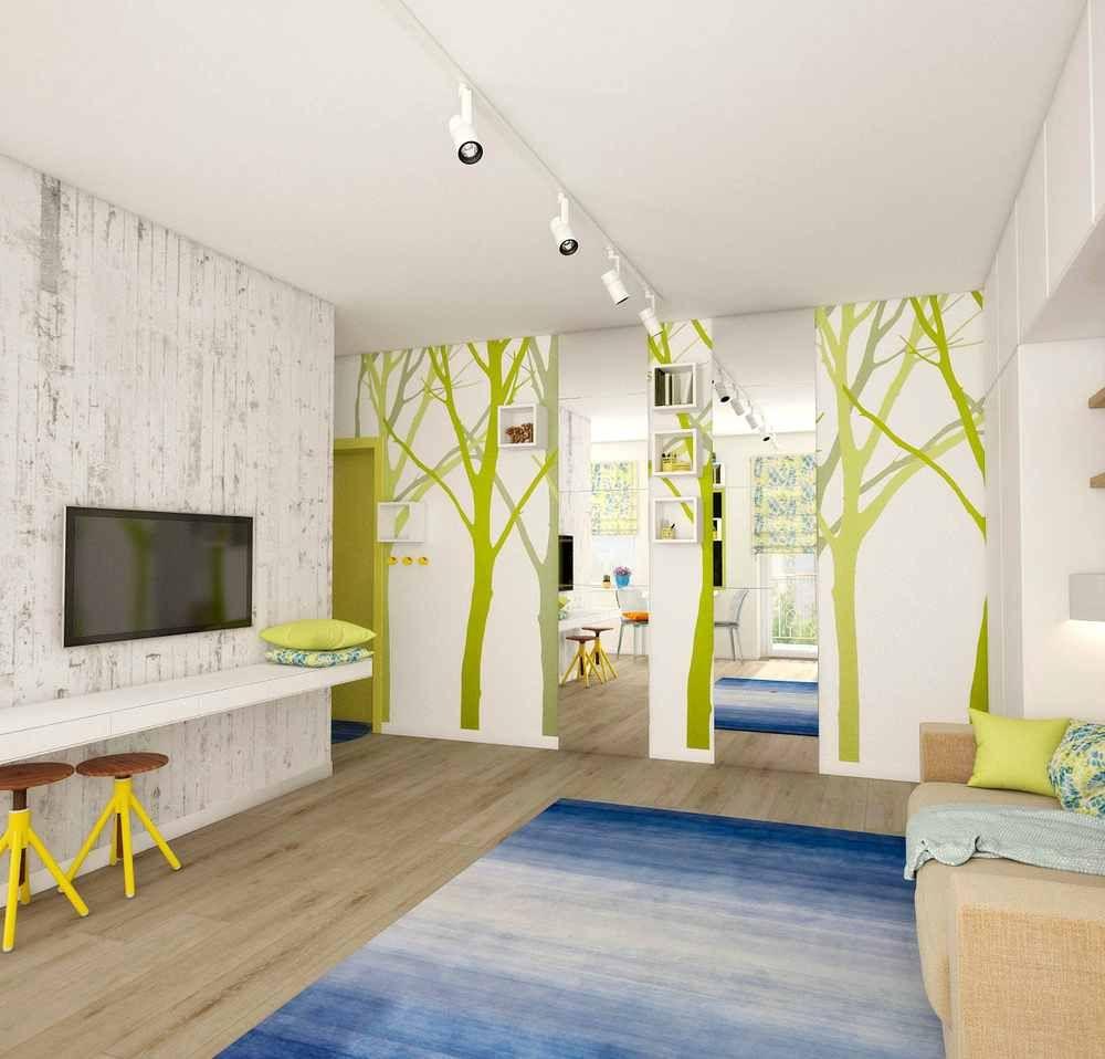 Decoraci N De Un Mini Apartamento Ideas Aldetur Pinterest  ~ Decoracion Apartamentos Pequeños