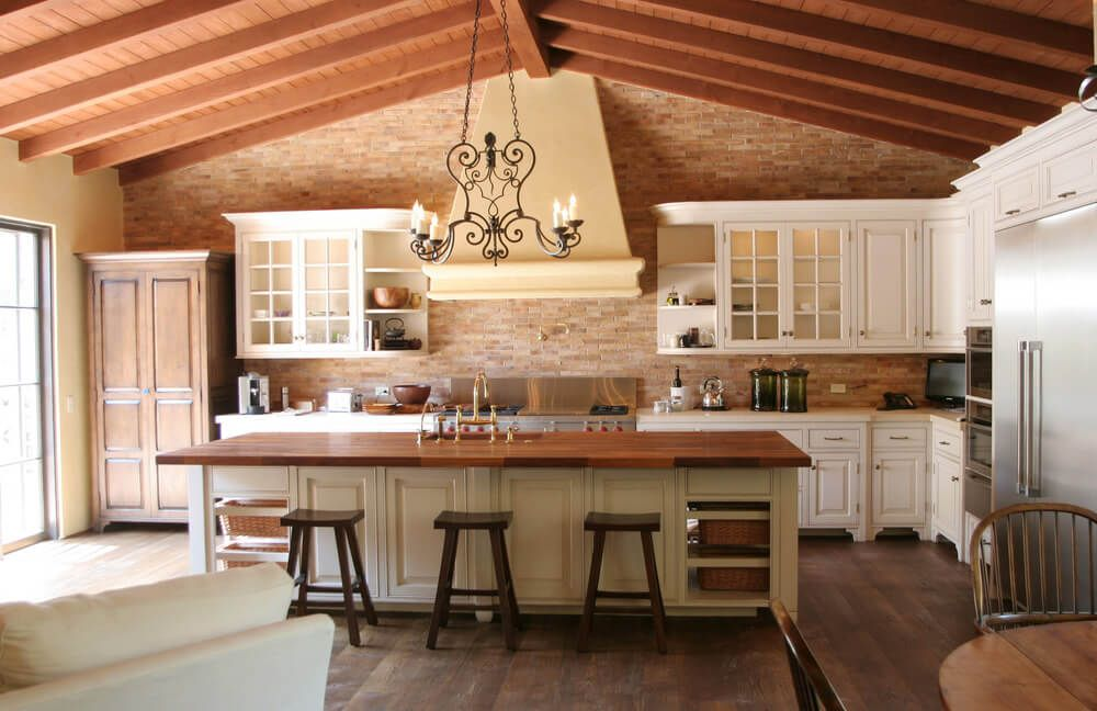 Lovely Spanish Kitchen Cabinets Part - 2: 31 Modern And Traditional Spanish Style Kitchen Designs