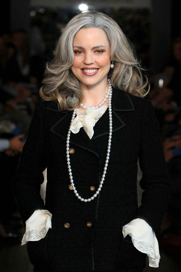The Grey Hair Trend 19 Celebrities Who Have Rocked It Grey Hair Looks Silver Grey Hair Grey Hair Color