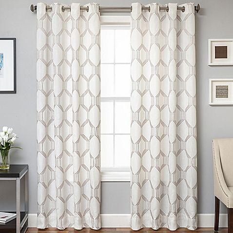 Lush Decor Velvet Dream Silver 84 Inch Curtain Panel Pair 40 X