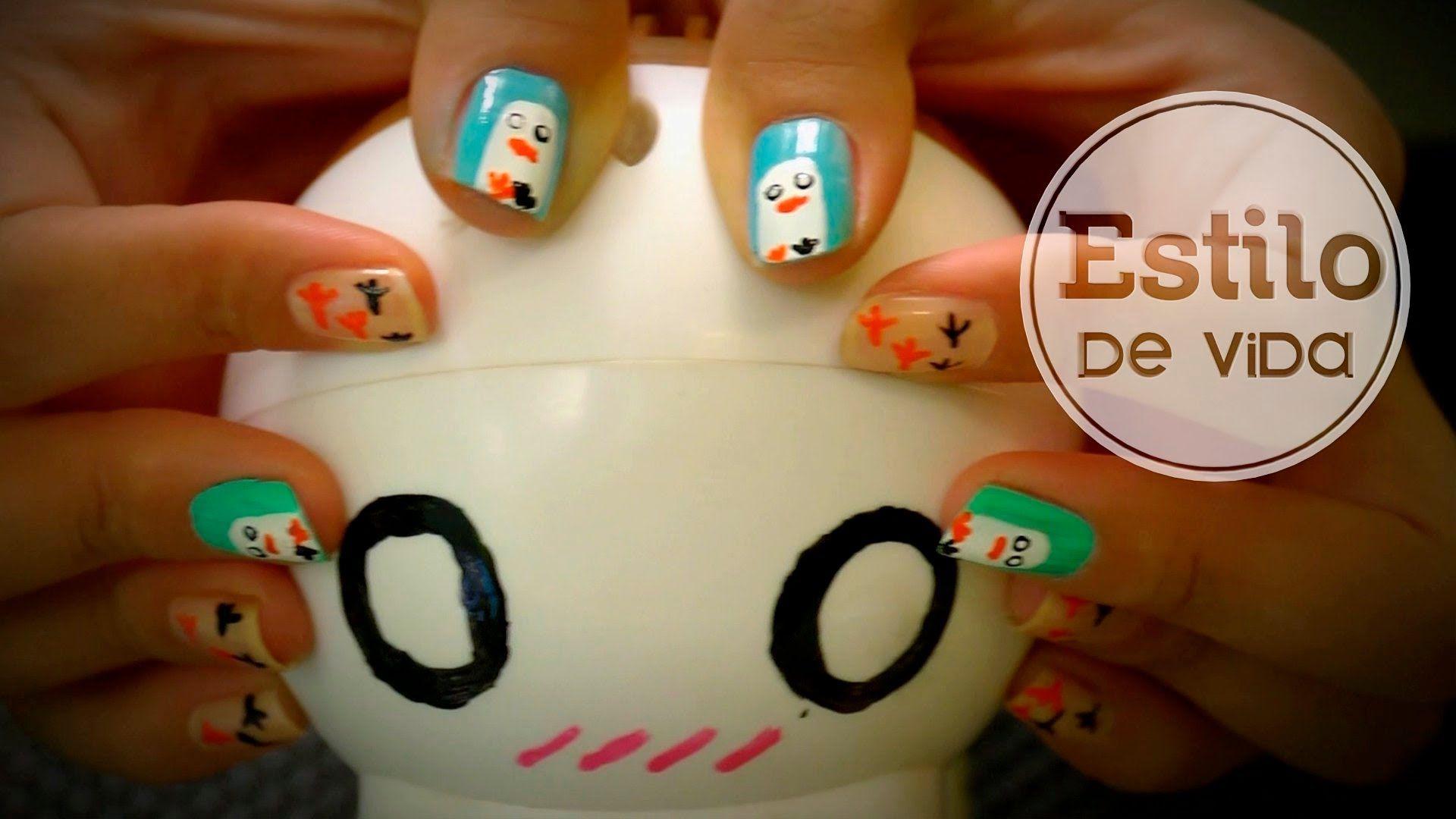 Decoración de uñas divertidas #manicura #facil #patos #original ...