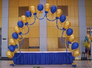 Decoracion En Globos Para Graduacion Buscar Con Google