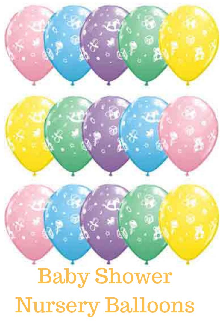 "Baby Moon /& Stars Pearl Light Pink Qualatex Latex 11/"" Balloons x 25"