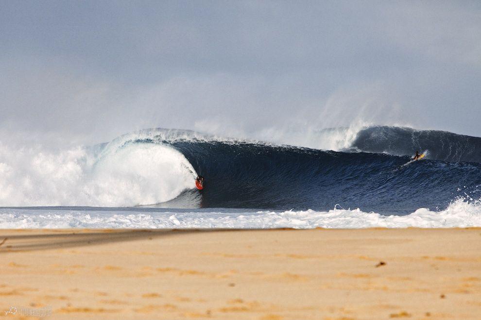 Garrett McNamara - Pipeline, HI by bluesnapper.com.au
