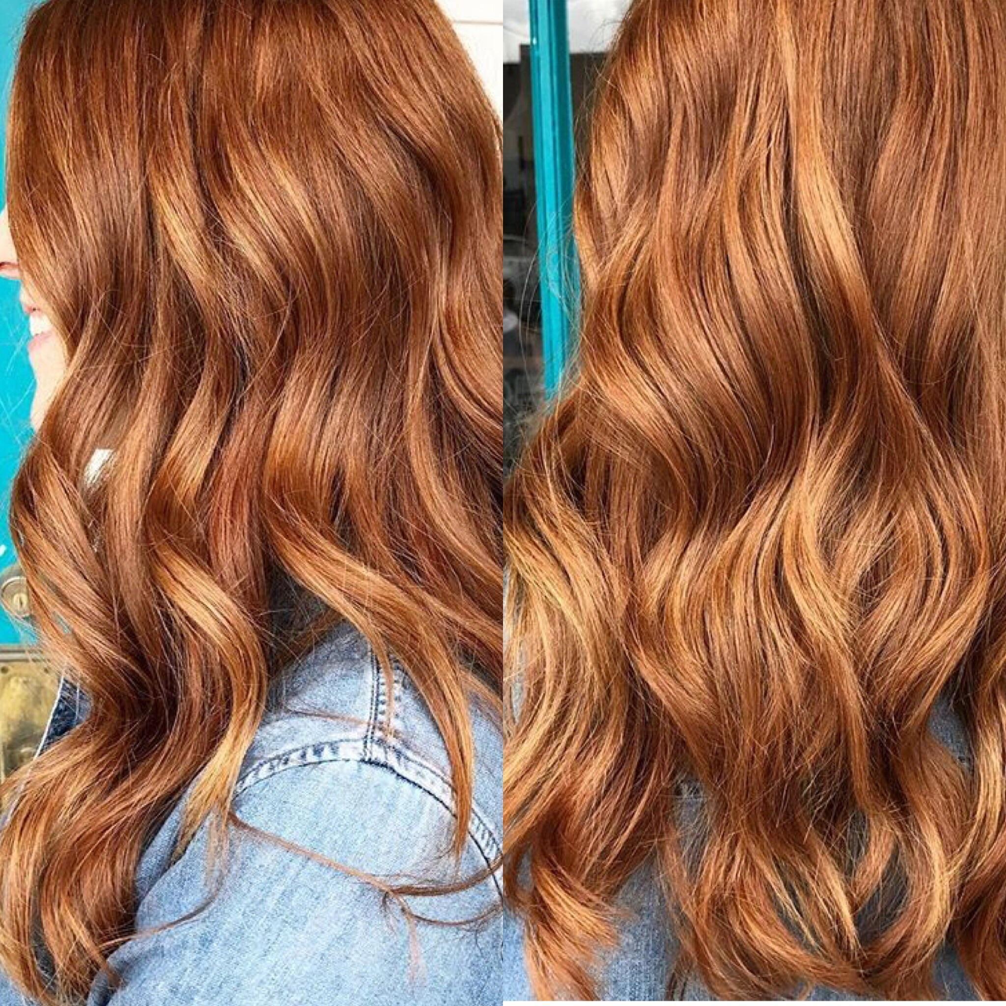 Balayage on Natural Redhead   Balayage hair, Natural red hair ...