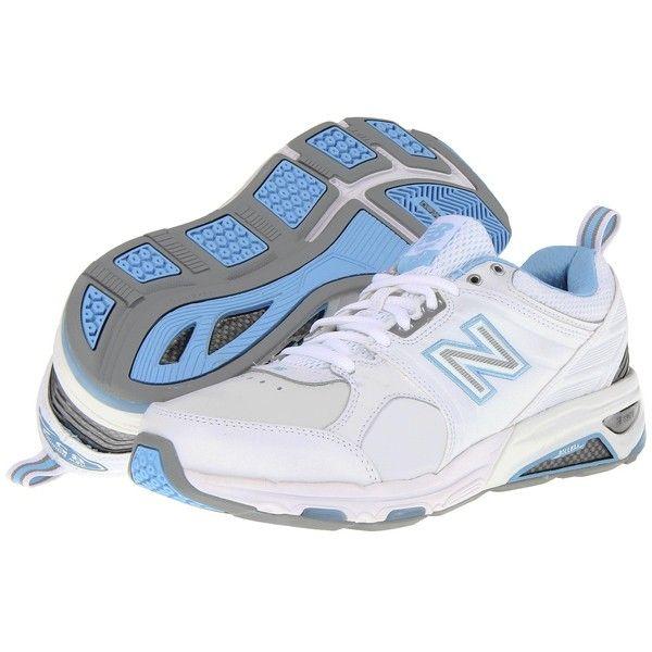 New Balance WX857 (White/Blue) Women's Cross Training Shoes (¥13,605)