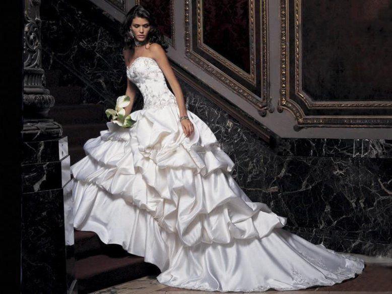 2013New white/ivory wedding dress custom size 2-4-6-8-10-12-14-16-18-20-22+++++