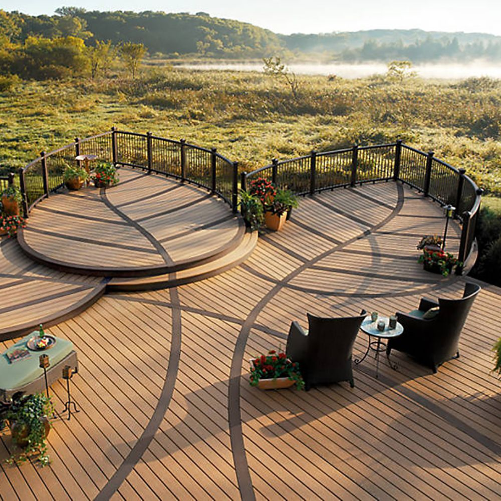 Complex Bespoke Decking Design | Outdoor living patios ... on Bespoke Outdoor Living id=47741