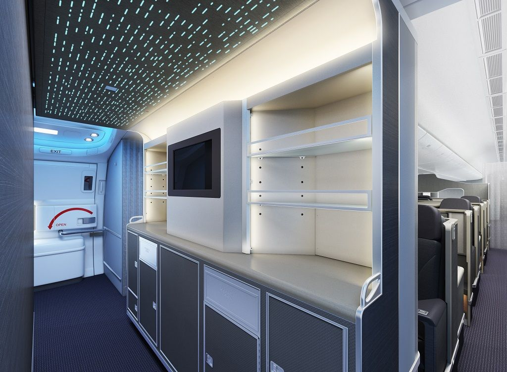 Airlines Add Mood Lighting To Chill Passengers Out Bloomberg