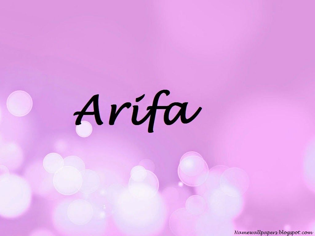 Arif Name Wallpapers Arifa Wallpaper Urdu Meaning