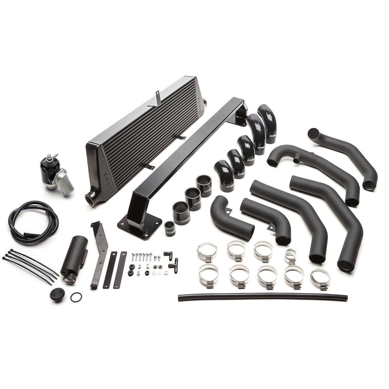 Cobb Front Mount Intercooler Kit (Black) For 1114 Subaru