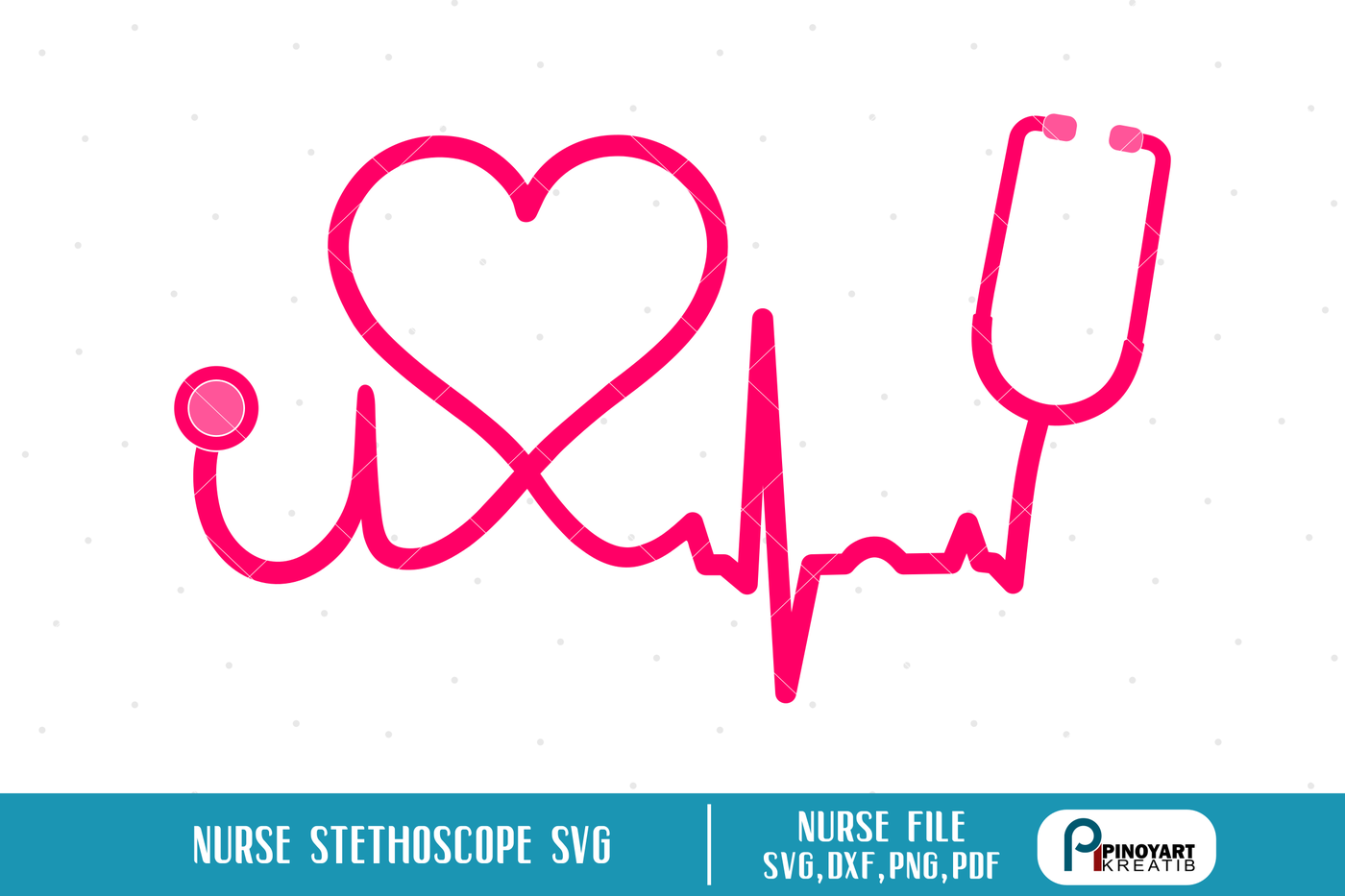 nurse svg,nurse dxf,nurse svg file,stethoscope svg file