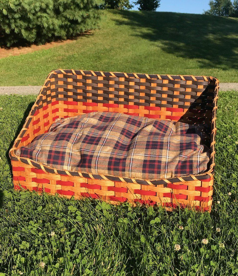 Pet Bed Basket Bed, Basket, Outdoor blanket