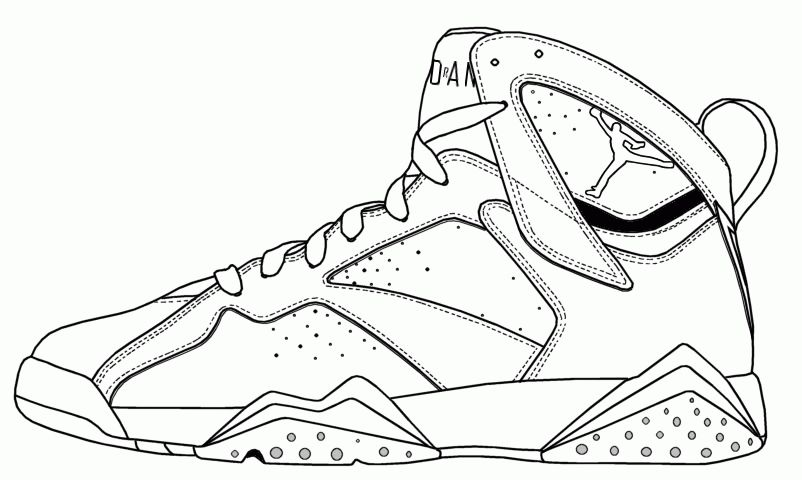 Jordan Shoes Coloring Pages Coloring Home Di 2020 Gambar Mode Gambar Karakter Kartun