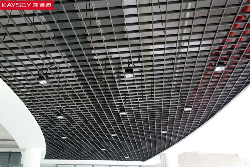 Aluminium Grid Ceiling In Yemen Metal Ceiling Tiles Metal Ceiling False Ceiling Design