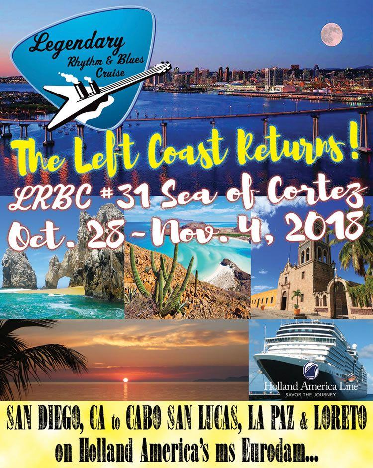 28 Oct 2018 ms Eurodam 7 Night Legendary Rhythm And Blues Cruise