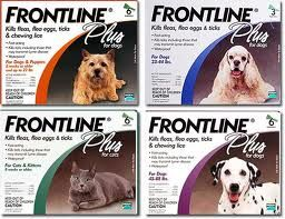 Frontline Plus offers total protection for 30 days. It's waterproof, so your dog or cat remains protected during and after baths and rainstorms.