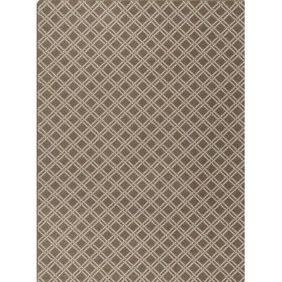 Milliken Imagine Brown/Gray Area Rug Rug Size: