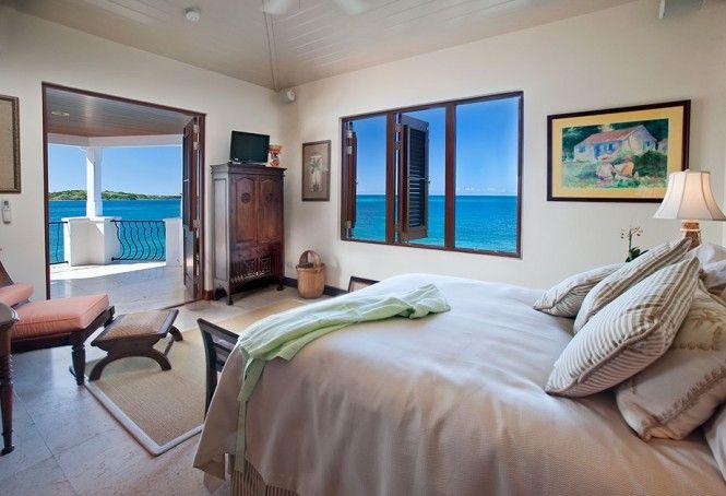 Serene caribbean rental villa master bedroom pinterest bedrooms master bedroom and coastal
