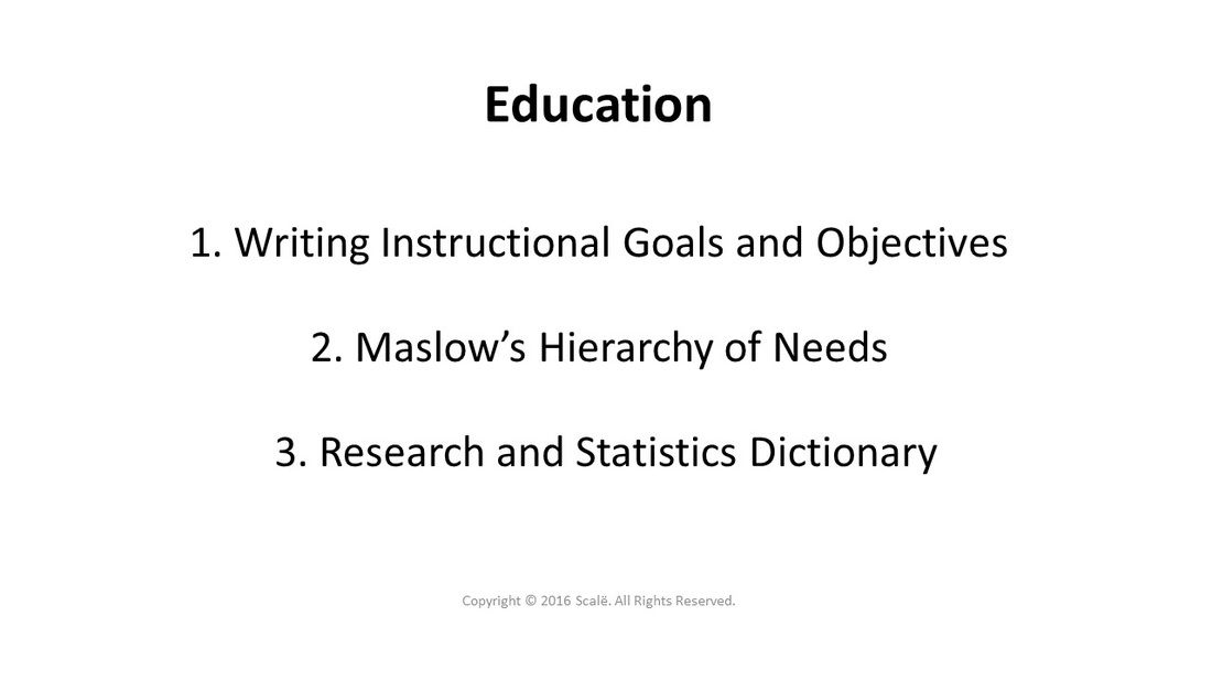 There Are Three Educational Topics Covered In Research Engineer
