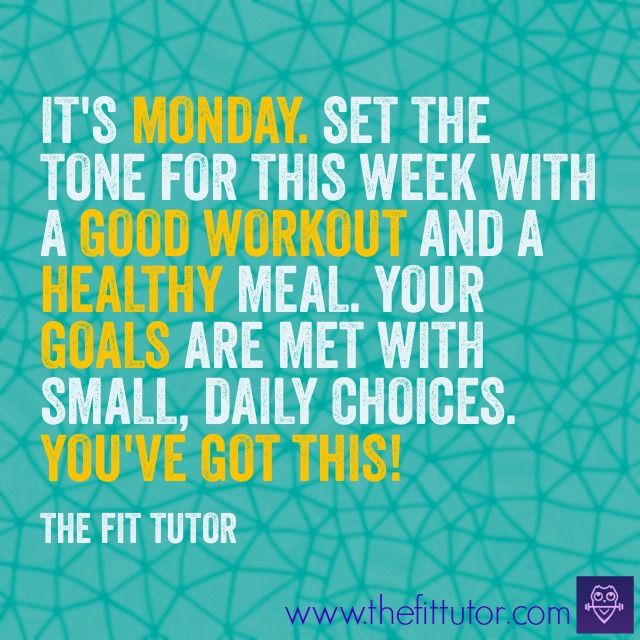 6 Monday Training Motivation Quotes Reference Start Today and Become an Expert in Days.