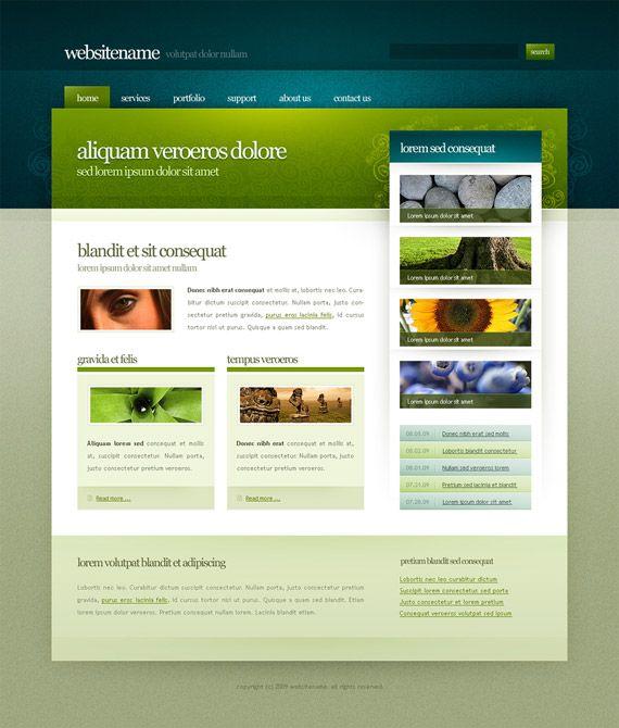 template-14-deviantart-inspirational-creative-web-design | Business ...
