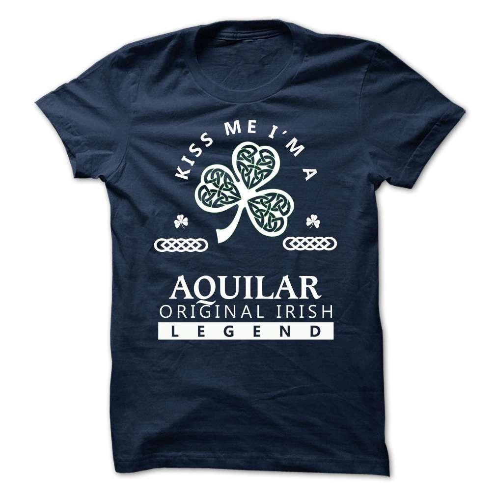 (Tshirt Top Tshirt Choice) AQUILAR Kiss Me Im Team Coupon 10% Hoodies, Funny Tee Shirts