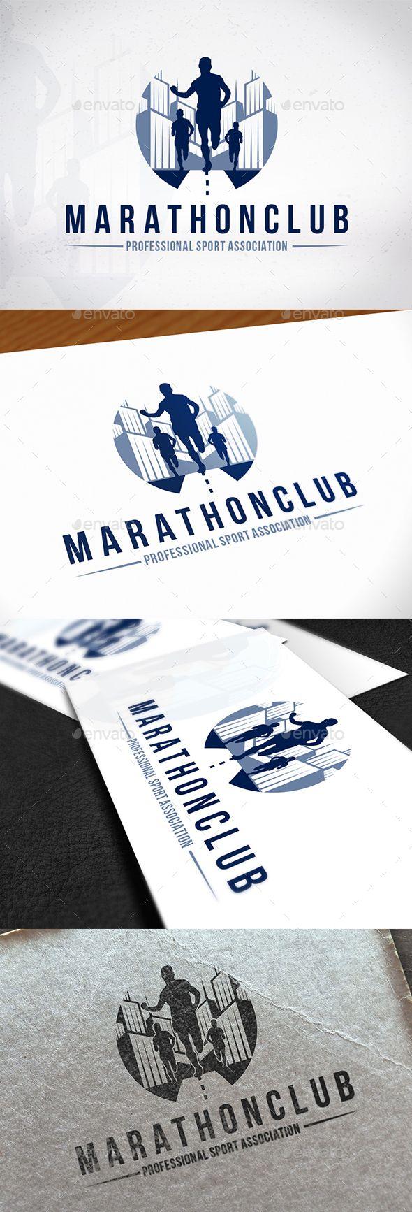 Marathon Club Logo Design (With images) Logo design