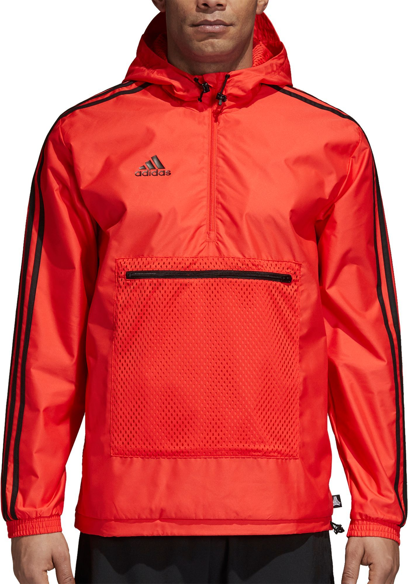 88d4e38a7640 adidas Men s Tango Half Zip Windbreaker Jacket in 2018