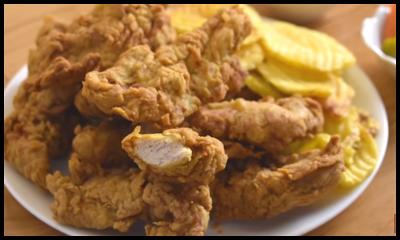 كريسبي الدجاج المقرمش Food Chicken Meat