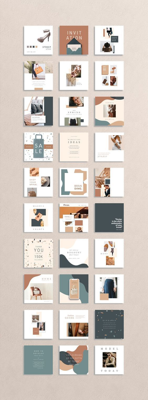 ANIMATED Camo Social Media Pack by eviory on Creative Market 180 TEMPLATES in TO...