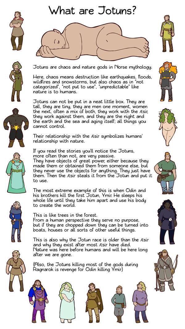 Jotuns #norsemythology