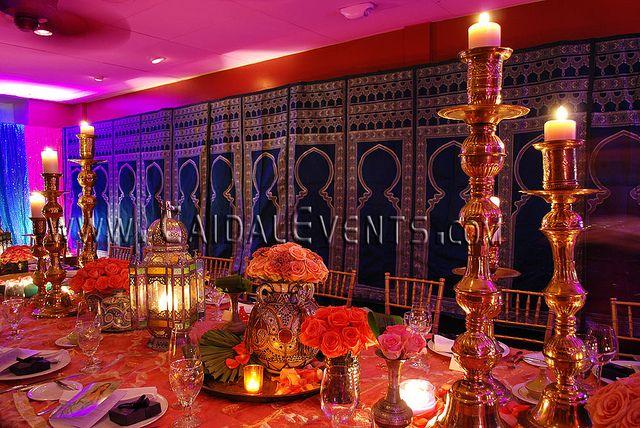 Arabian Nights Party Themed