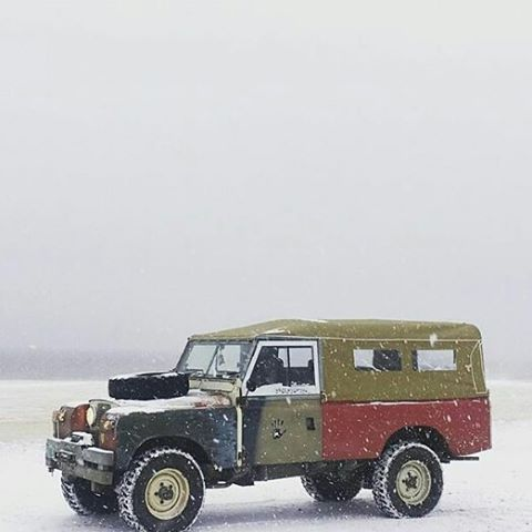 Land rover 109 Serie II A soft top canvas o.k. | Land Rovers ...