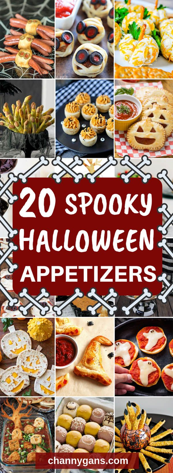 20 Halloween Party Appetizers And Snack Ideas #appetizersforparty