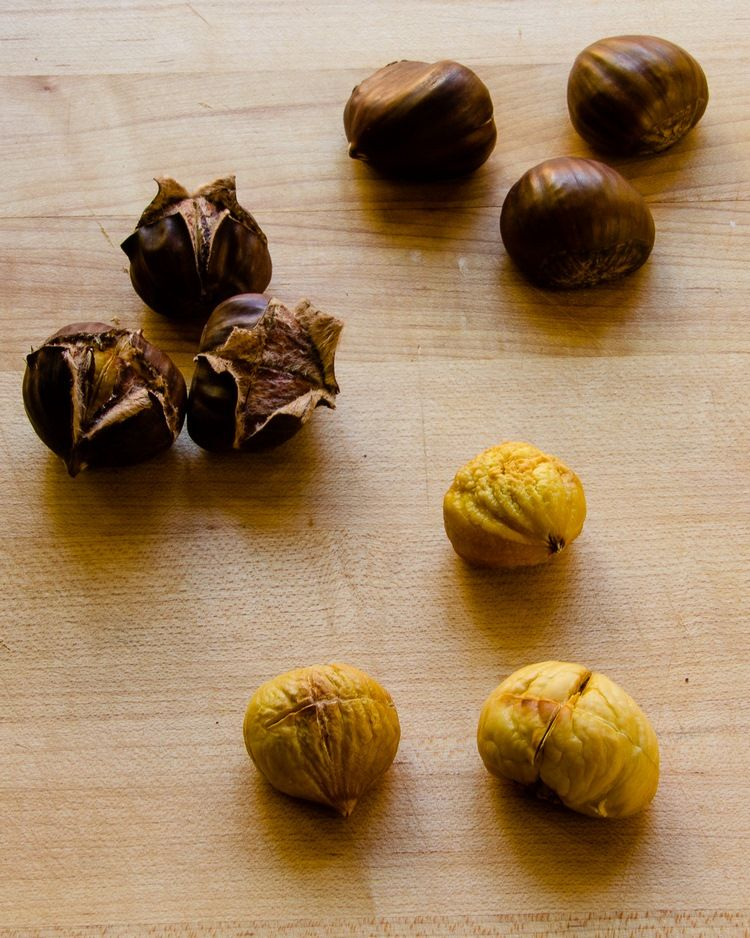 Delicious chestnut recipes for salads, main and side