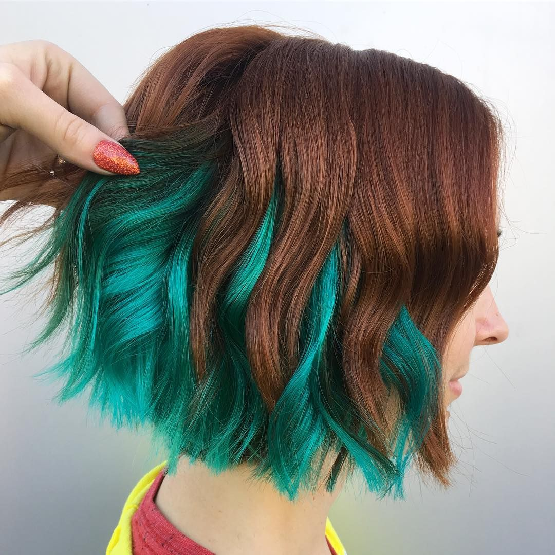 Hair slcut pulpriot color on instagram ucp a t i n a just because